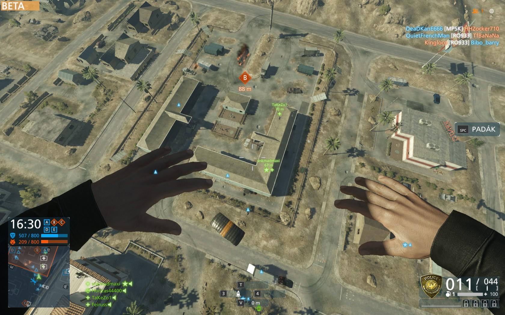 Dojmy z hraní otevřené bety Battlefield Hardline 105538