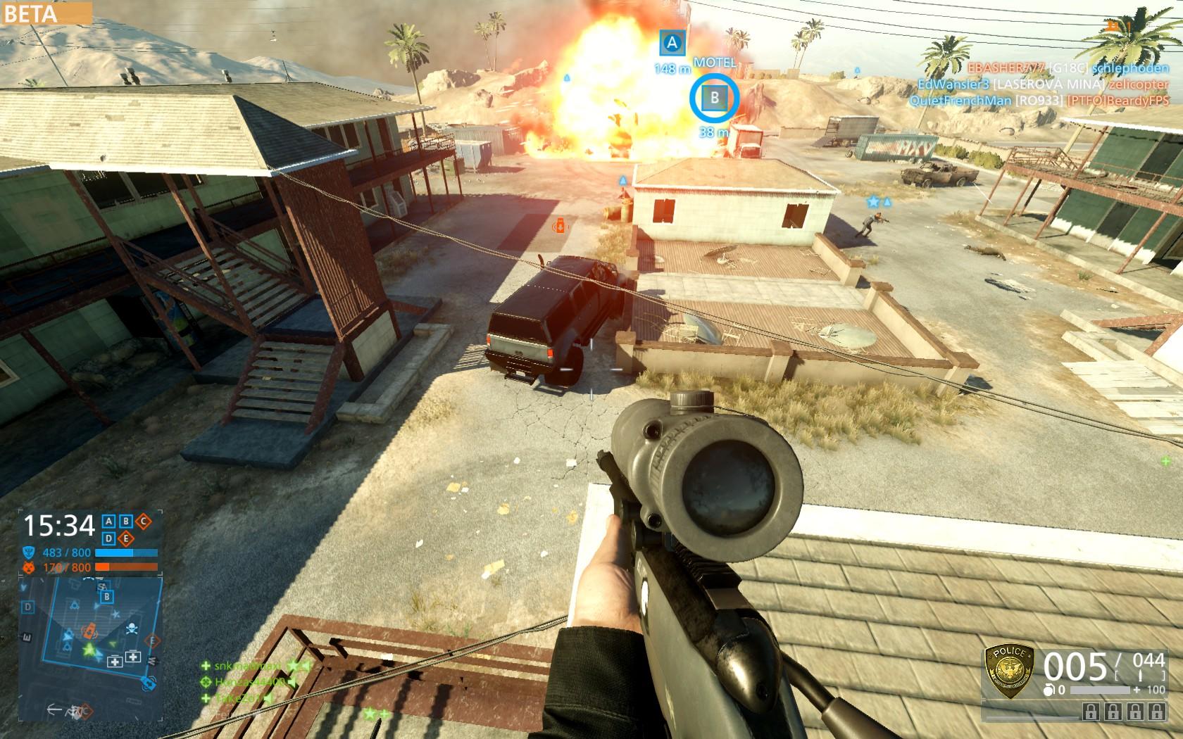 Dojmy z hraní otevřené bety Battlefield Hardline 105539