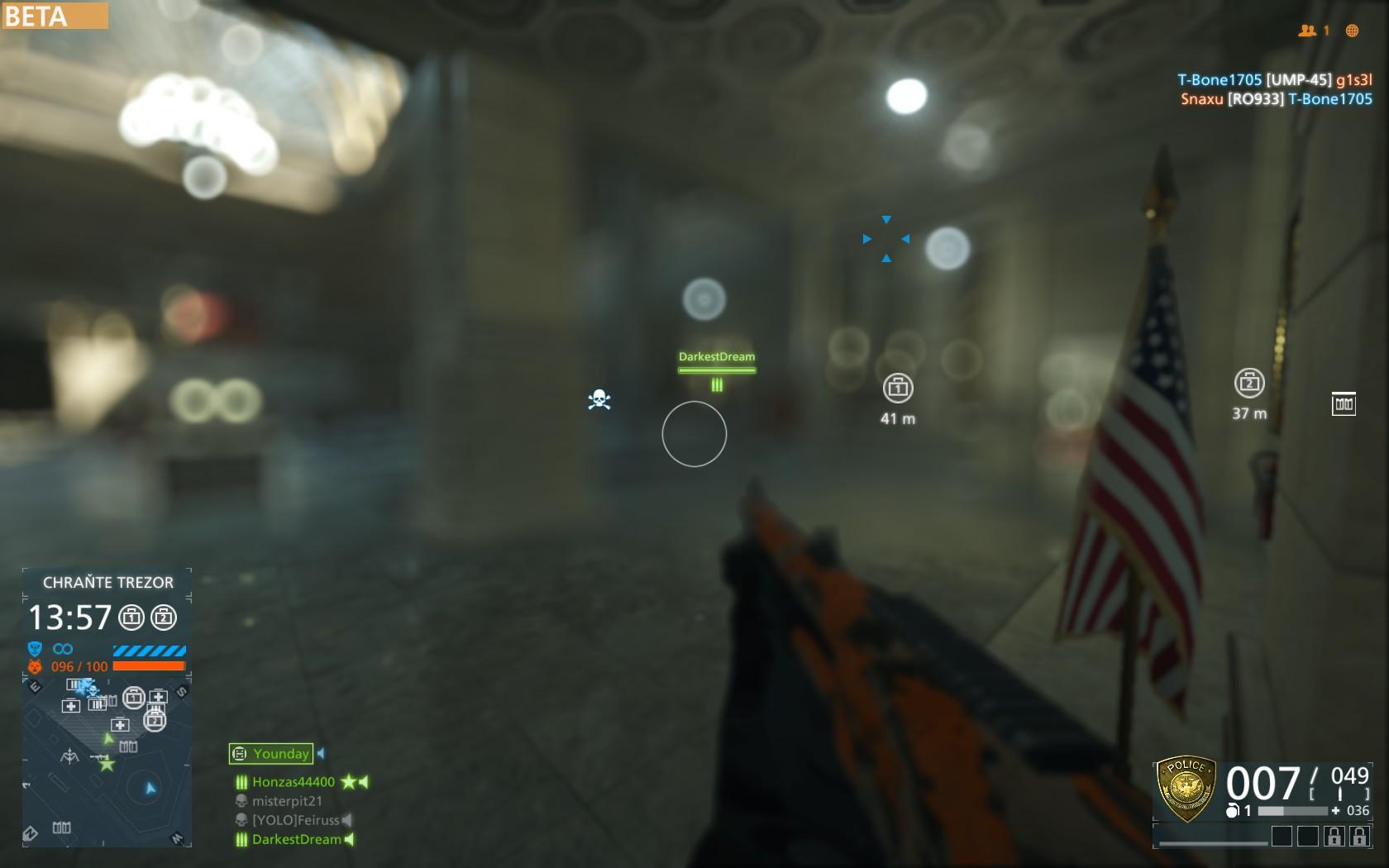 Dojmy z hraní otevřené bety Battlefield Hardline 105540
