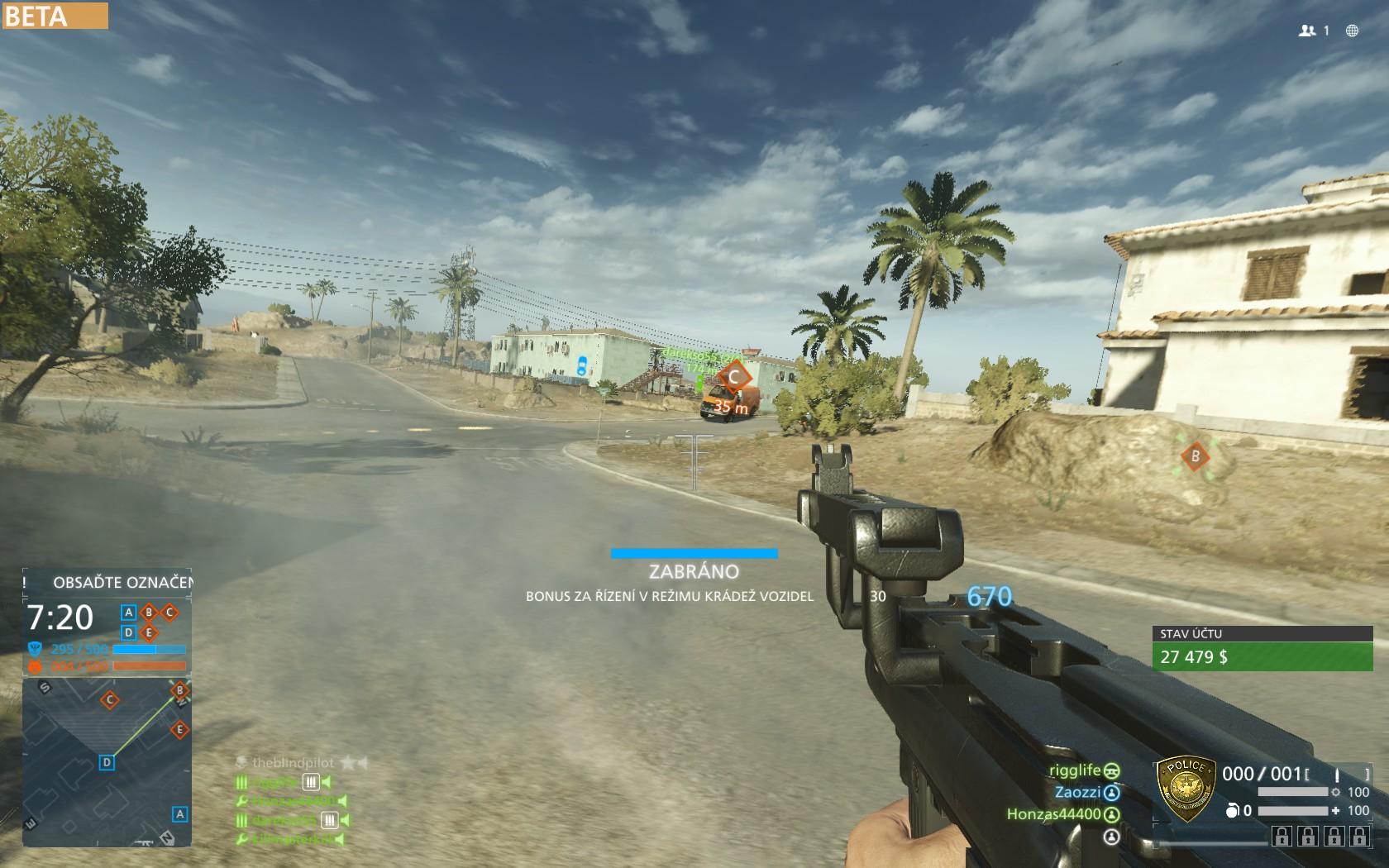 Dojmy z hraní otevřené bety Battlefield Hardline 105544