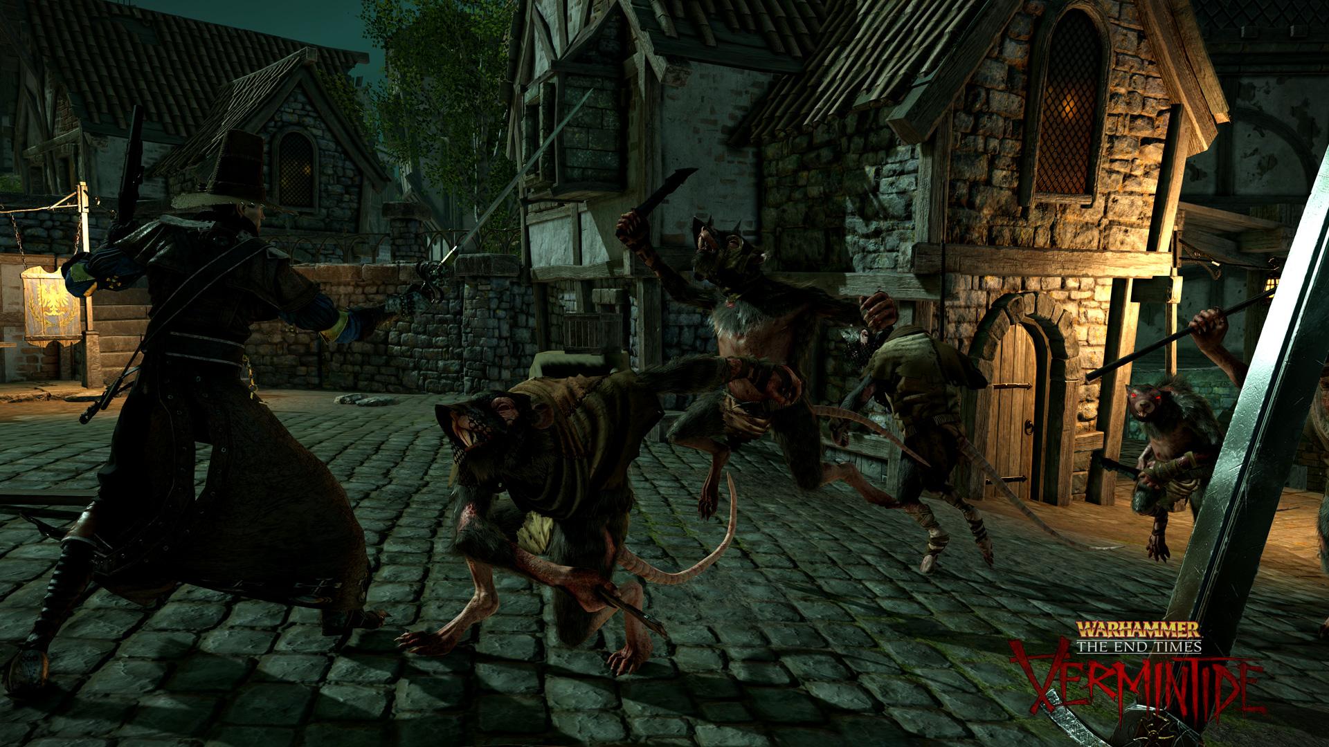 Chystá se co-op survival titul ze světa Warhammeru pro čtyři hráče 105595