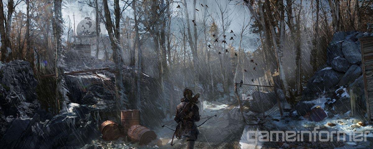 Krásné artworky z Rise of the Tomb Raider 105639