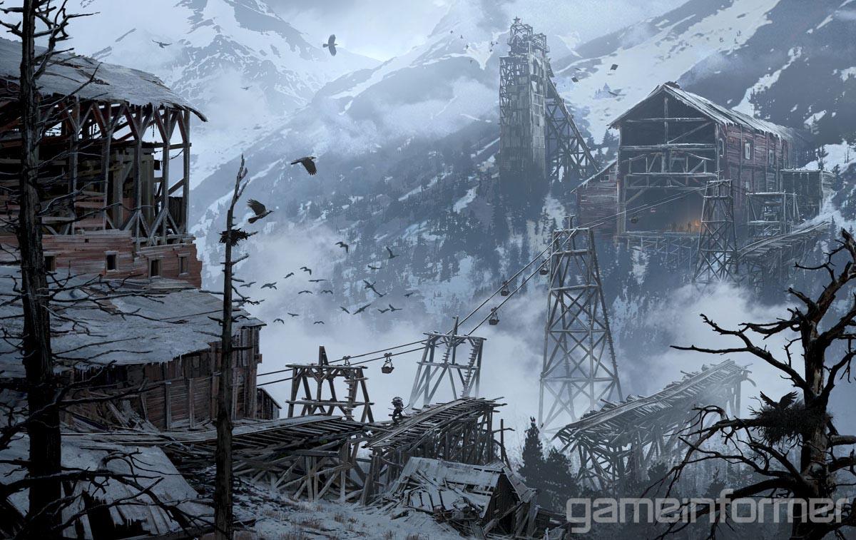 Krásné artworky z Rise of the Tomb Raider 105640