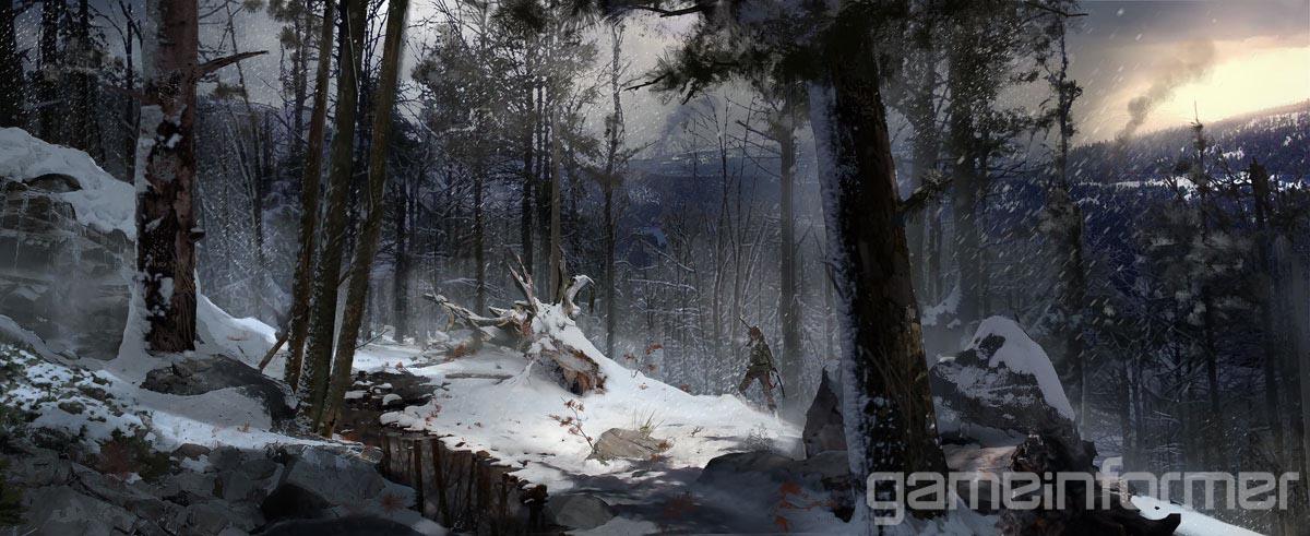 Krásné artworky z Rise of the Tomb Raider 105641