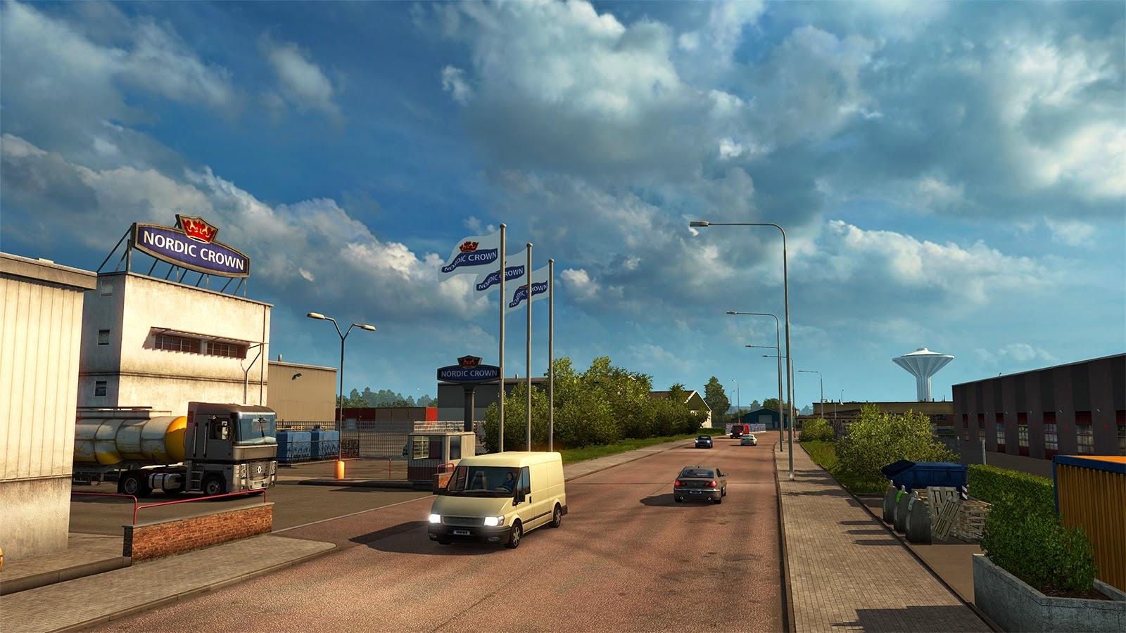 Obrazem: Městečko Örebro v Euro Truck Simulator 2 105674