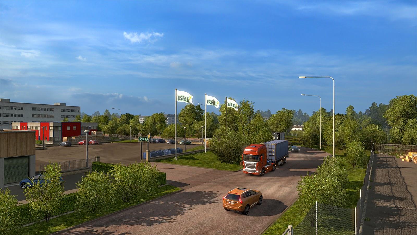 Obrazem: Městečko Örebro v Euro Truck Simulator 2 105675