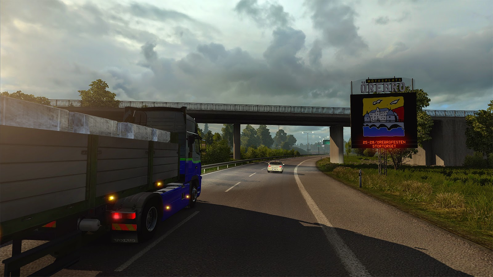 Obrazem: Městečko Örebro v Euro Truck Simulator 2 105676