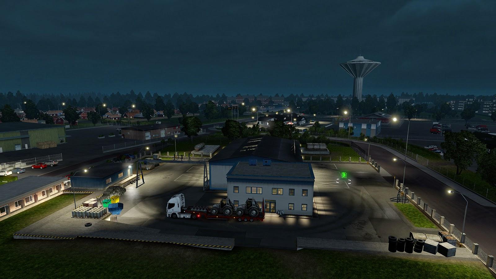 Obrazem: Městečko Örebro v Euro Truck Simulator 2 105677