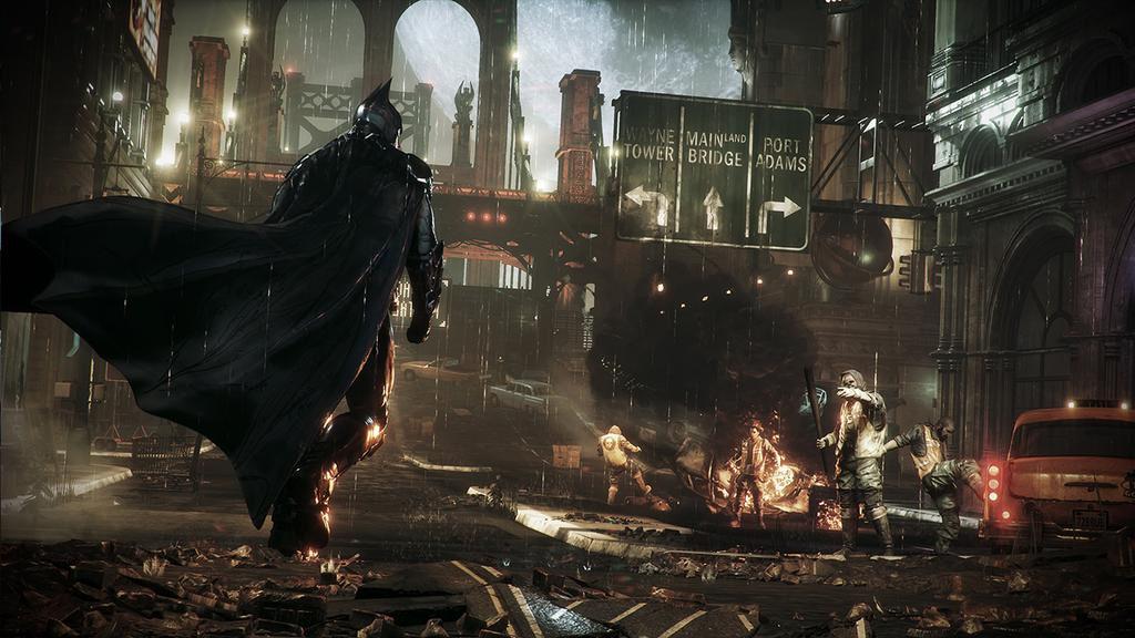 Osm obrázků z Batman: Arkham Knight 105683