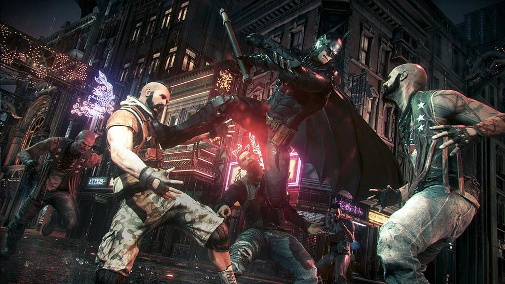 Osm obrázků z Batman: Arkham Knight 105687