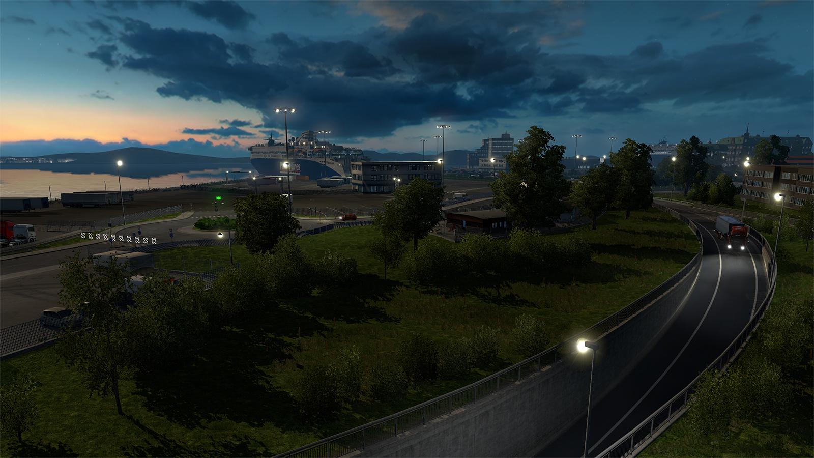 Oslo na obrázcích z expanze Euro Truck Simulator 2 105988