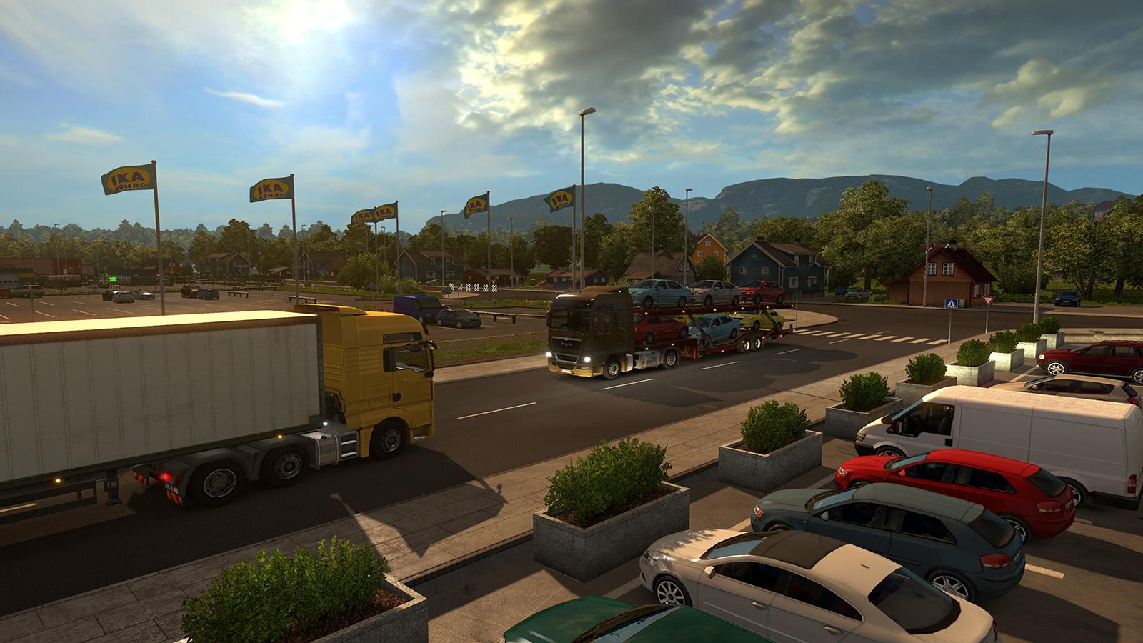 Oslo na obrázcích z expanze Euro Truck Simulator 2 105990