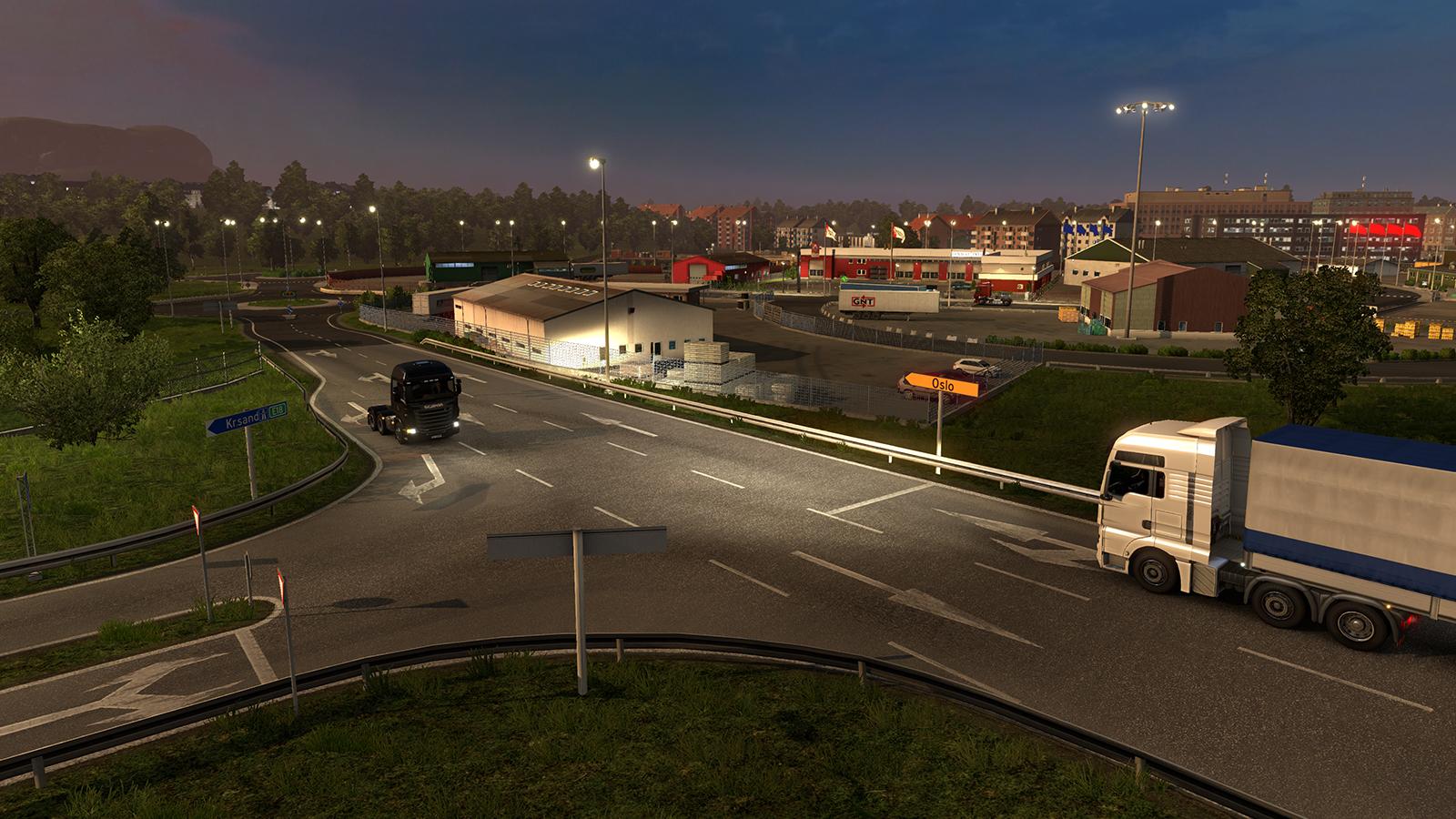 Oslo na obrázcích z expanze Euro Truck Simulator 2 105992
