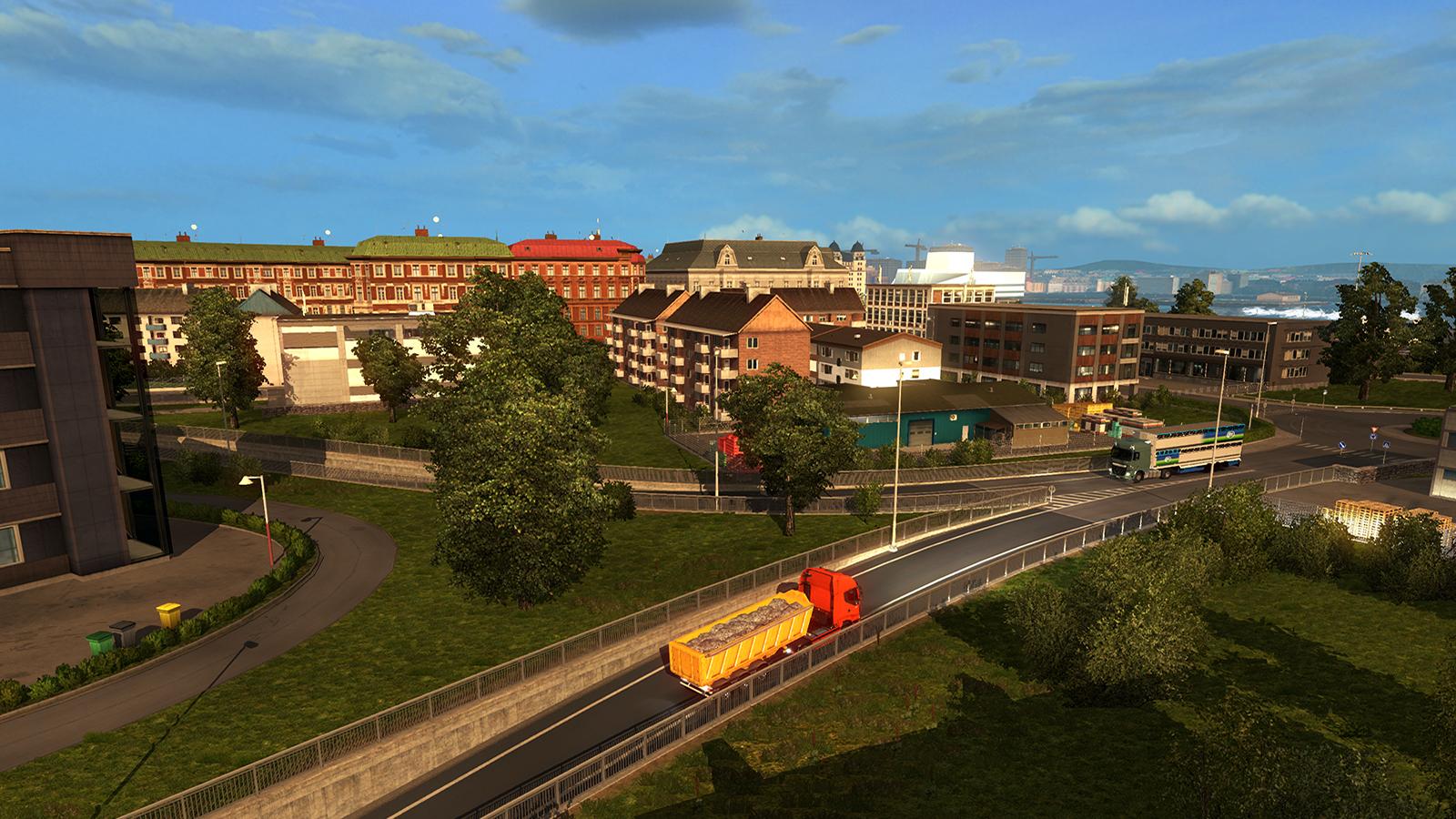 Oslo na obrázcích z expanze Euro Truck Simulator 2 105993