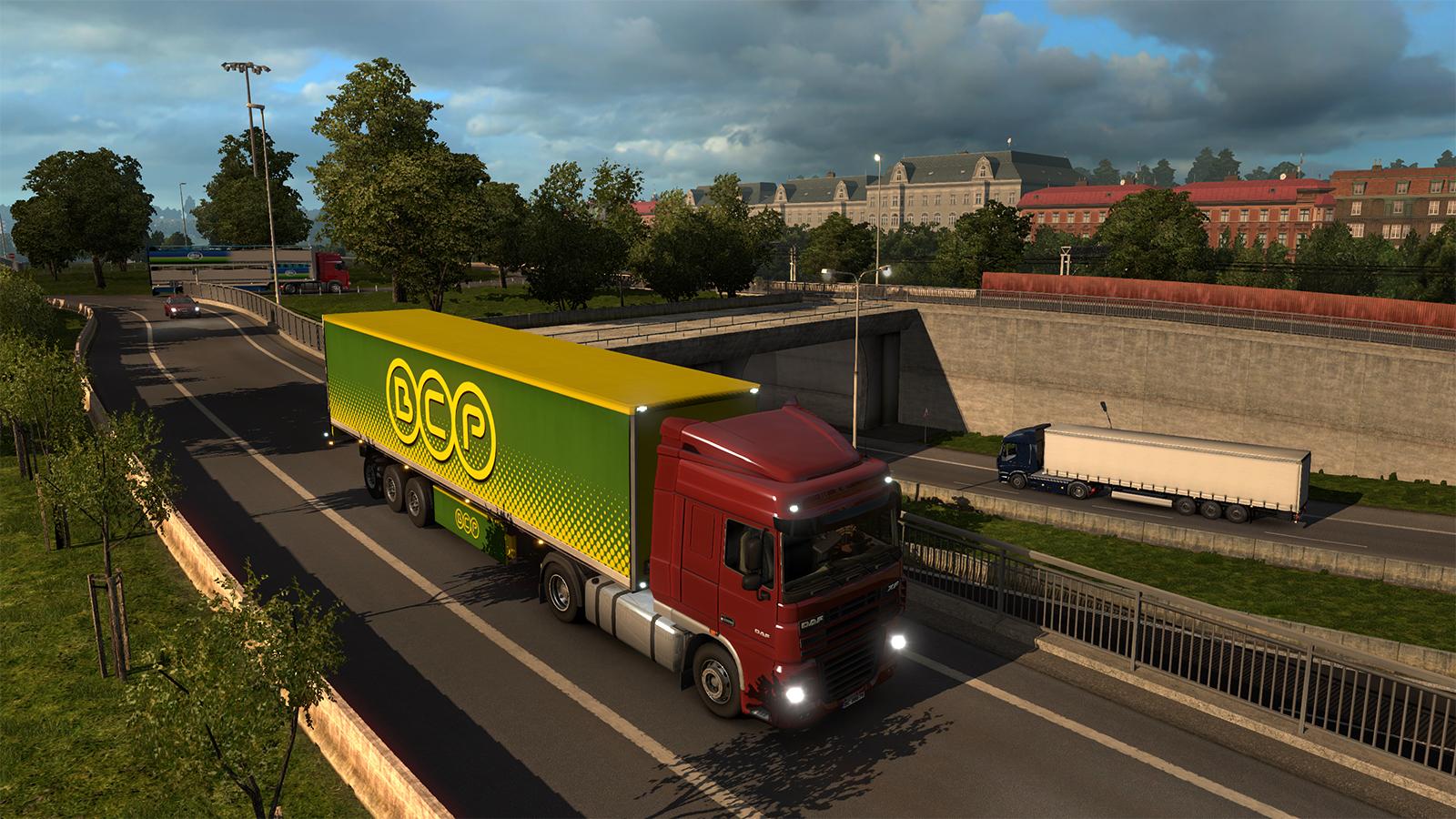 Oslo na obrázcích z expanze Euro Truck Simulator 2 105994