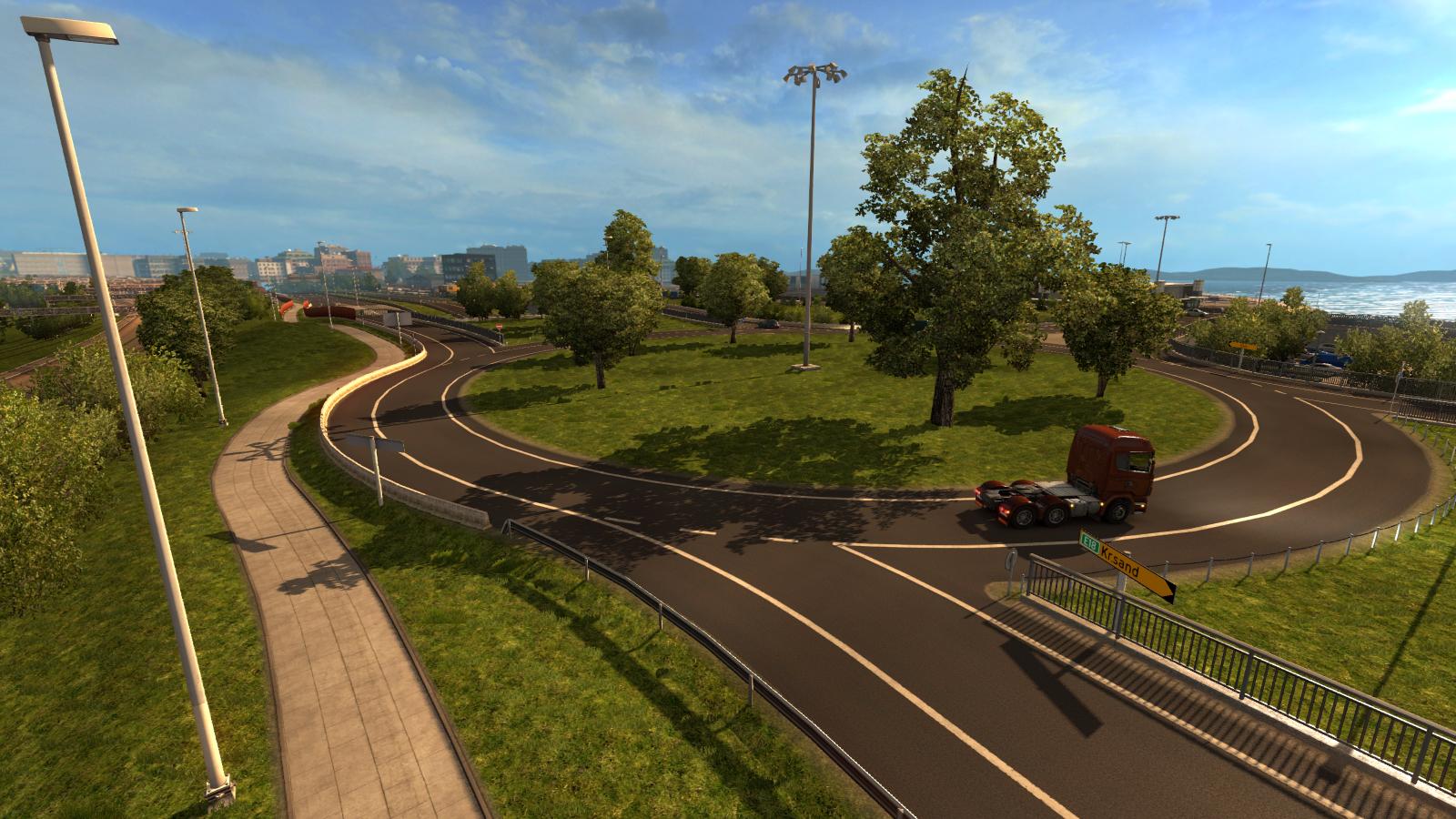 Oslo na obrázcích z expanze Euro Truck Simulator 2 105997