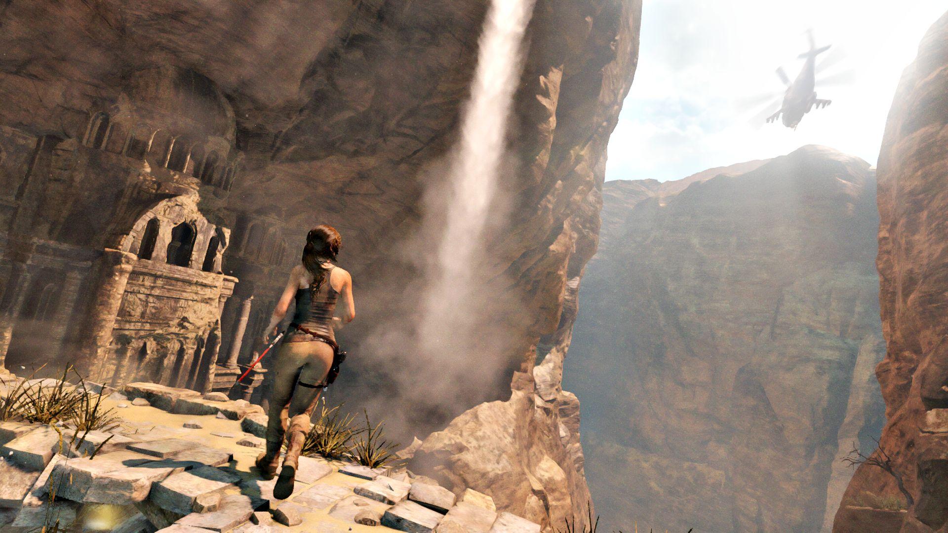 V Rise of the Tomb Raider se Lara Croft zašpiní 106001