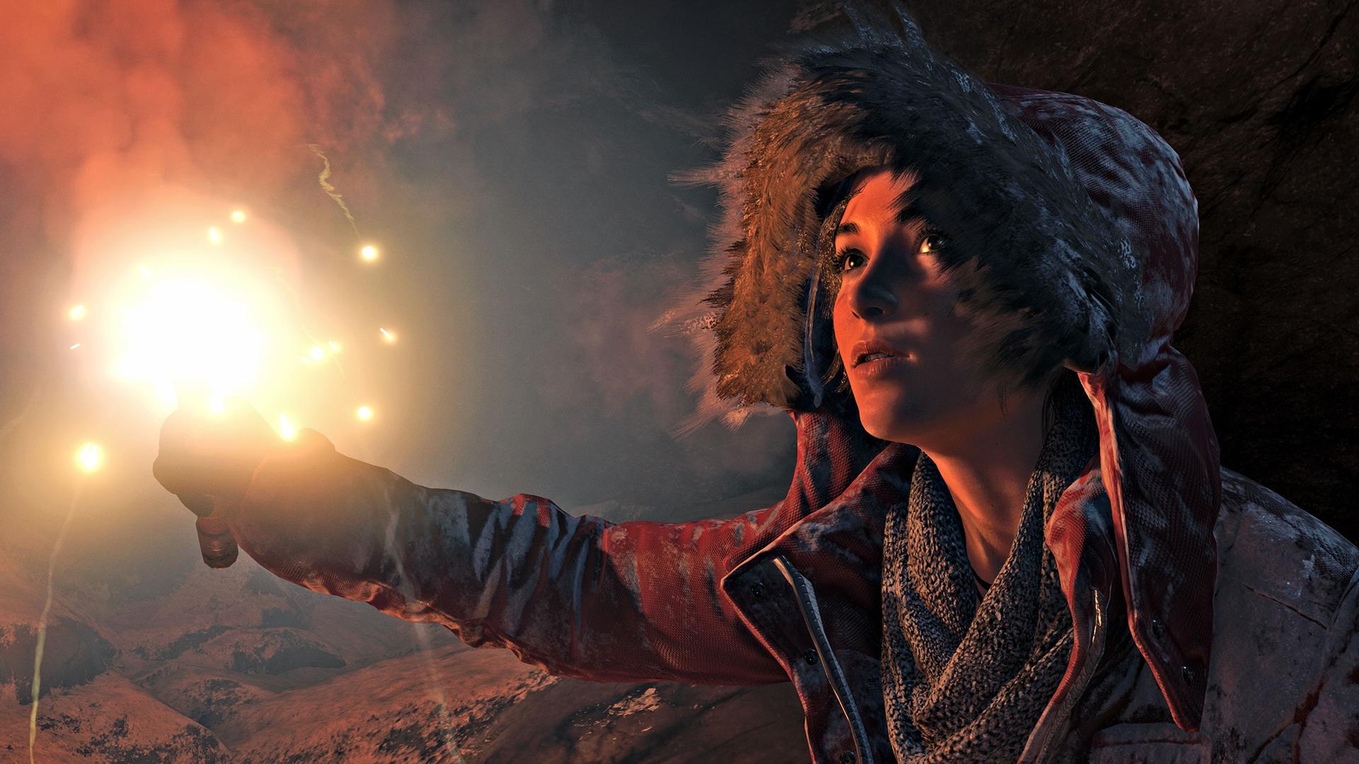 V Rise of the Tomb Raider se Lara Croft zašpiní 106006