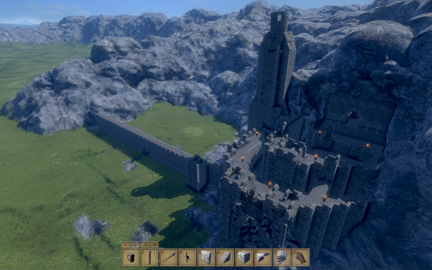 Medieval Engineers - zničte si své veledílo 106183