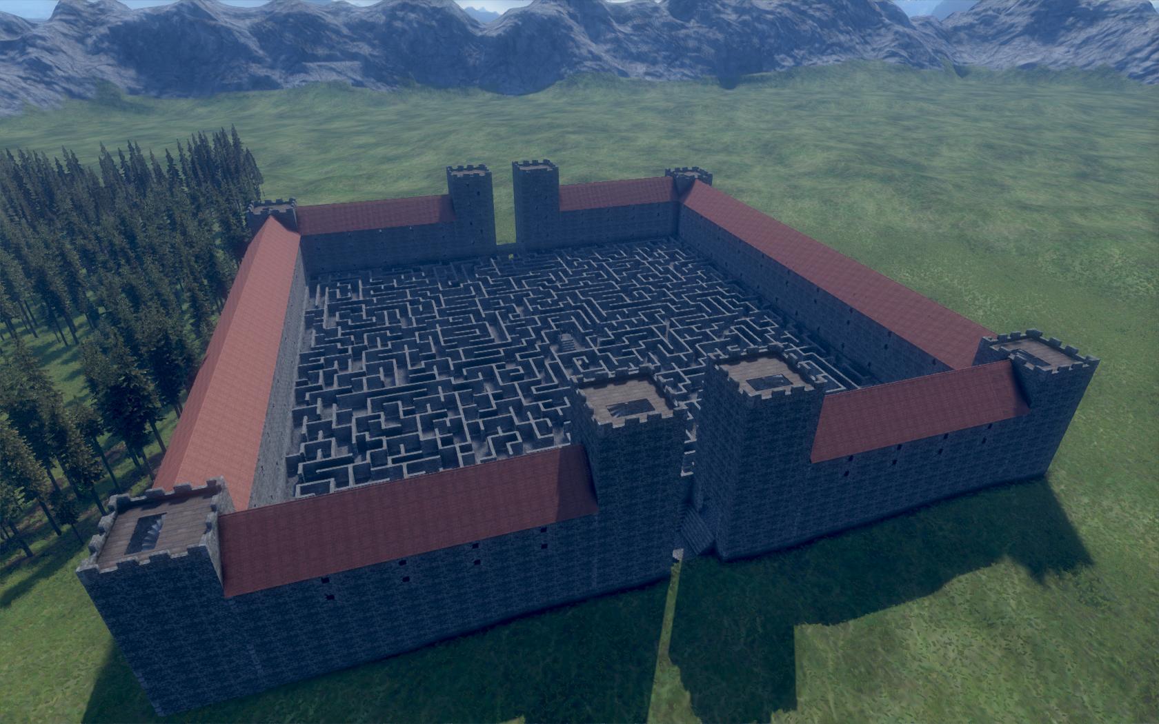Medieval Engineers - zničte si své veledílo 106184