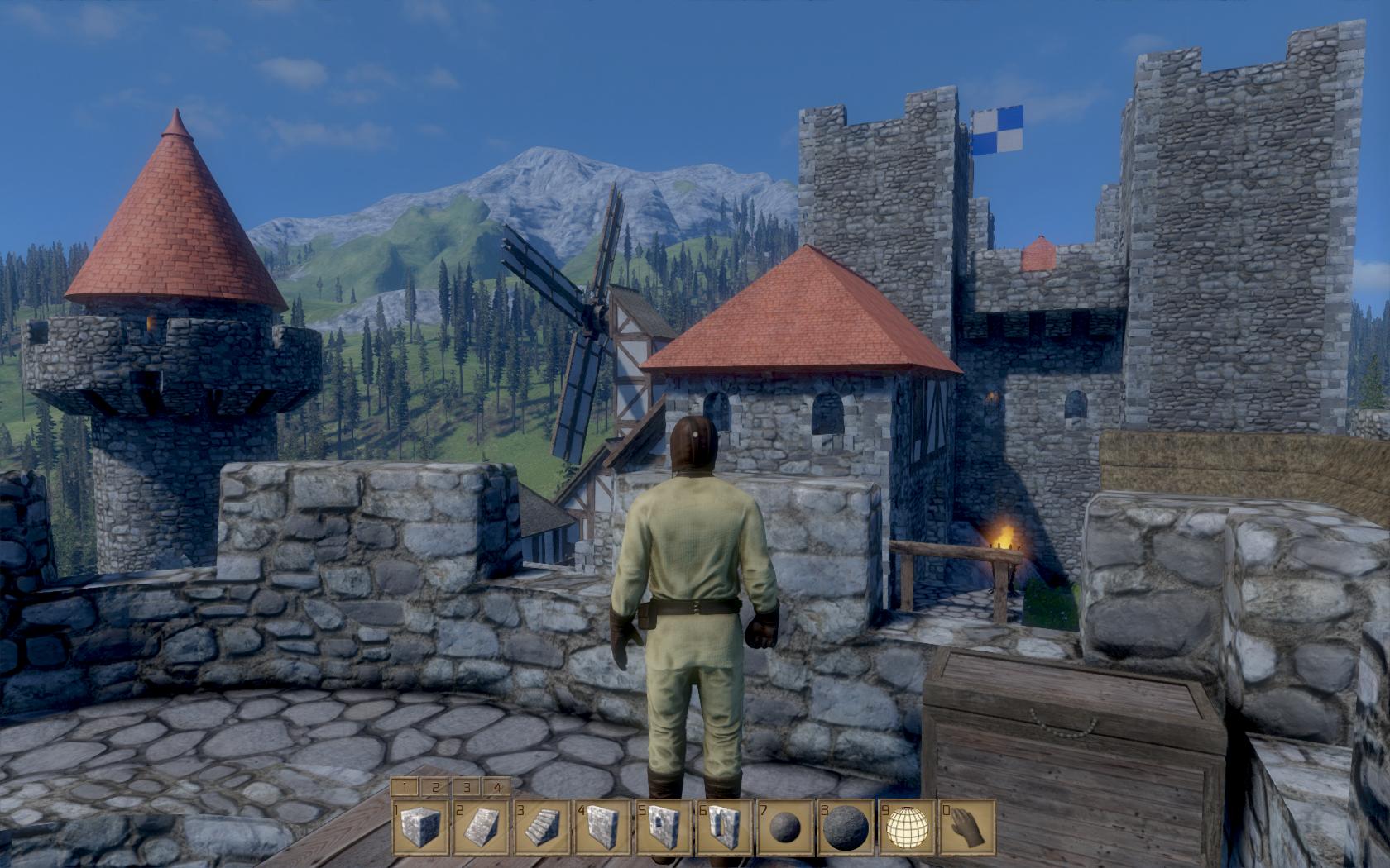 Medieval Engineers - zničte si své veledílo 106185