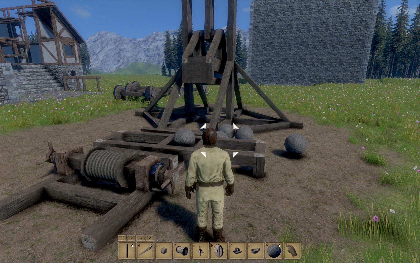 Medieval Engineers - zničte si své veledílo 106188