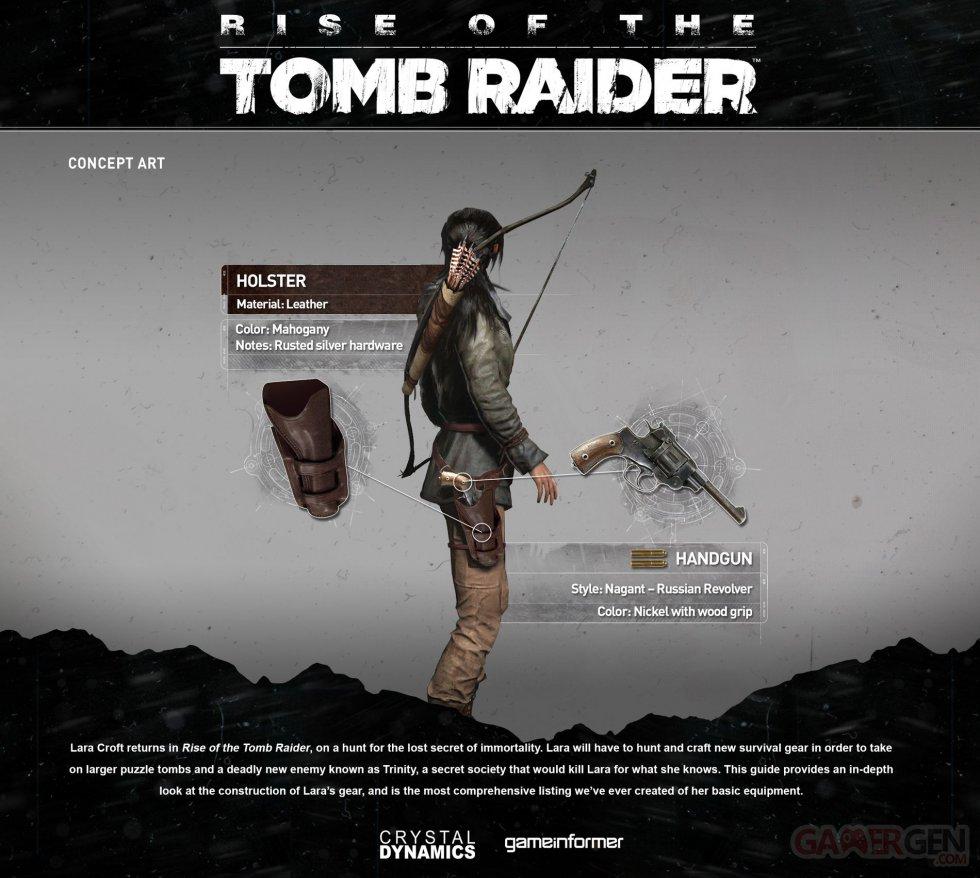 Vybavení Lary v Rise of the Tomb Raider pod drobnohledem 106216