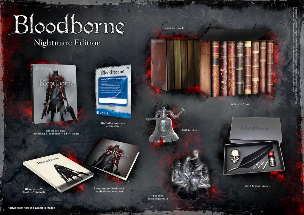 Vyberte si ze třech edic Bloodborne 106576