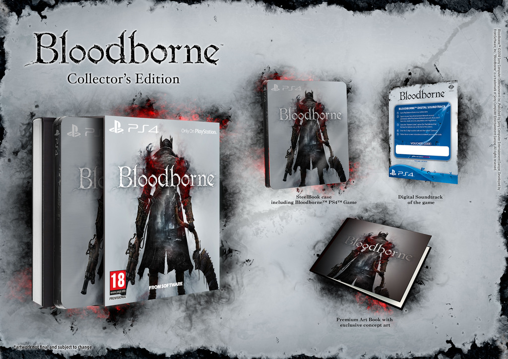 Vyberte si ze třech edic Bloodborne 106577