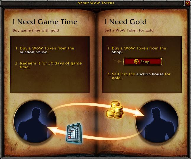 Ve World of Warcraft si budete moci brzy koupit 30 dnů hraní za zlato 106586