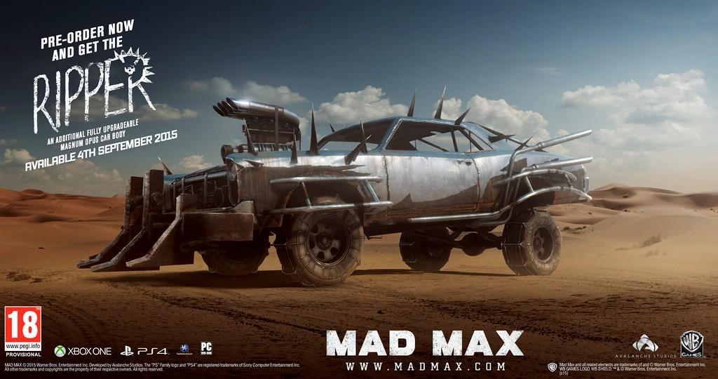 Mad Max v září, ale ne na staré konzole 106611