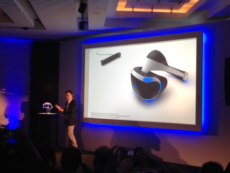 Virtuální realita od Sony v roce 2016 106620