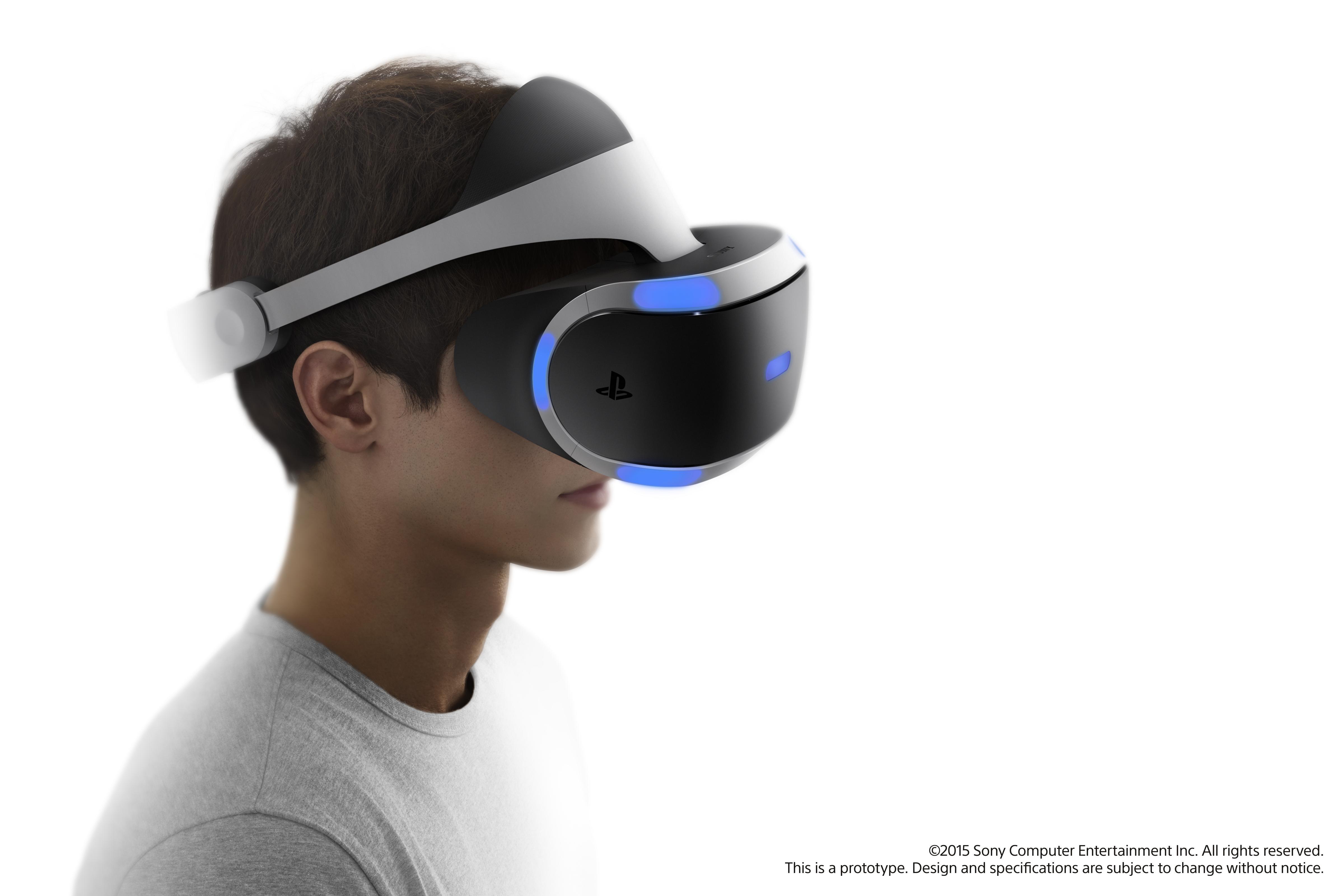 Virtuální realita od Sony v roce 2016 106624