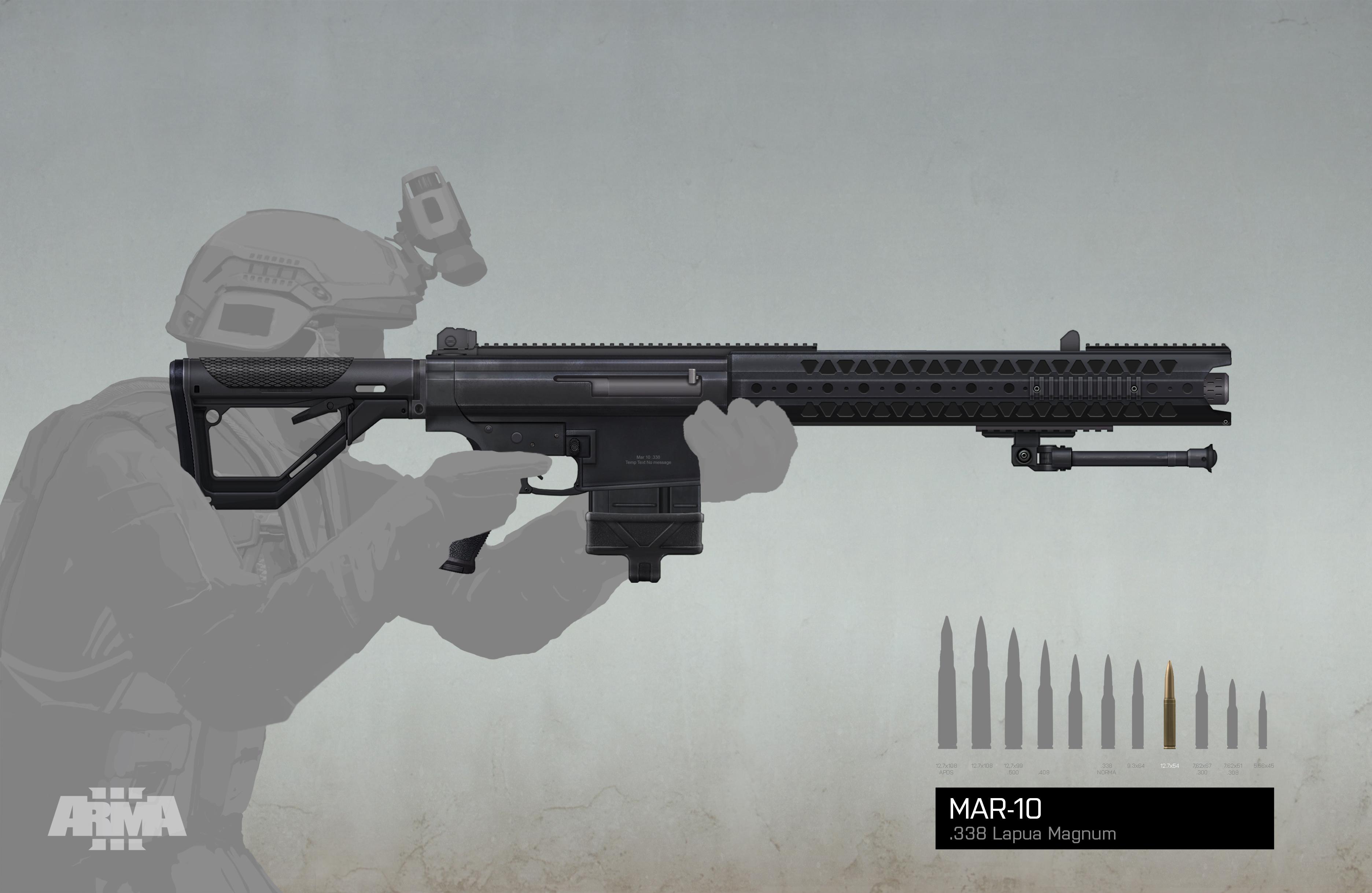 Omrkněte 7 nových zbraní z DLC Arma 3: Marksmen 106637