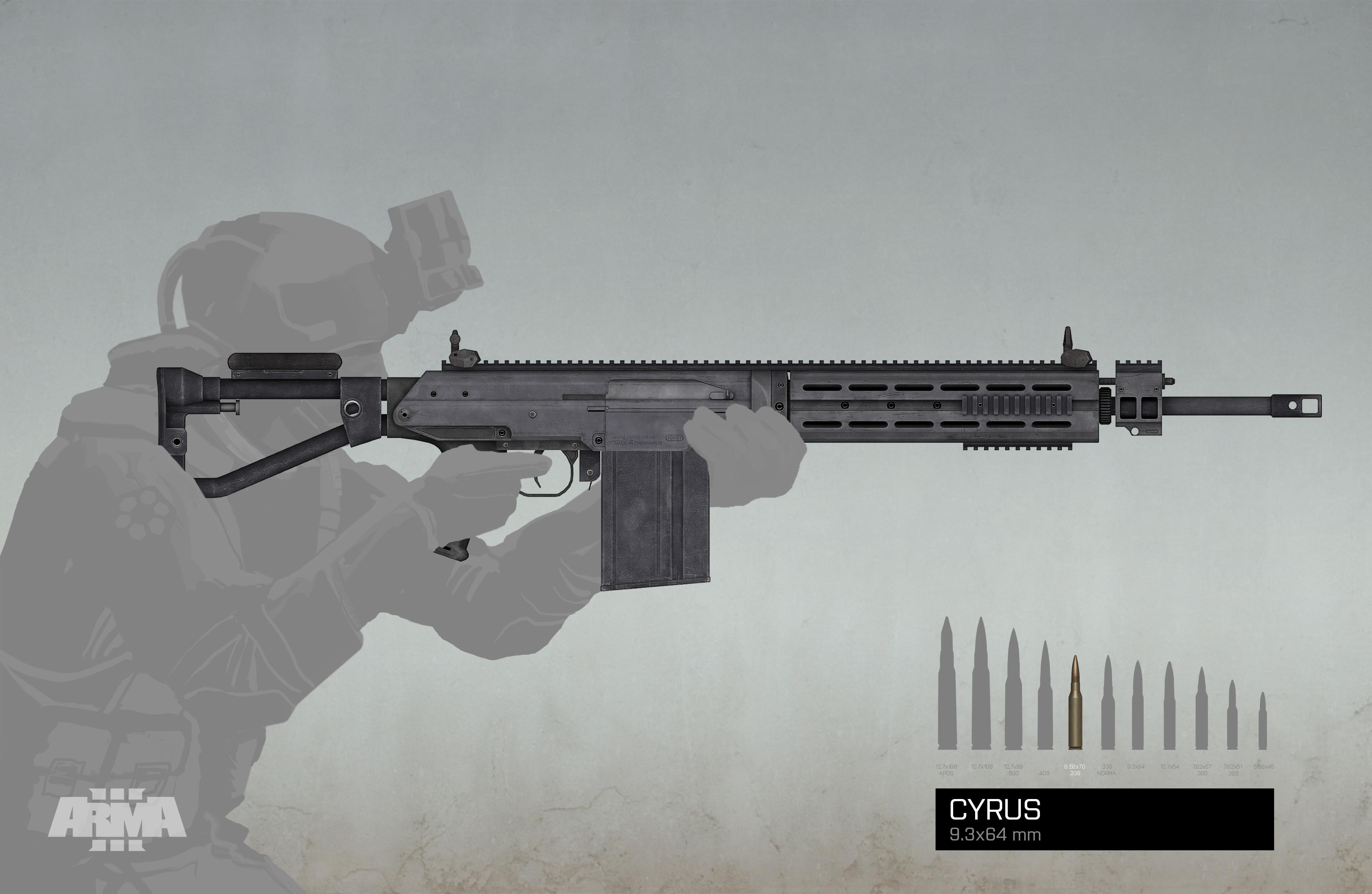 Omrkněte 7 nových zbraní z DLC Arma 3: Marksmen 106638