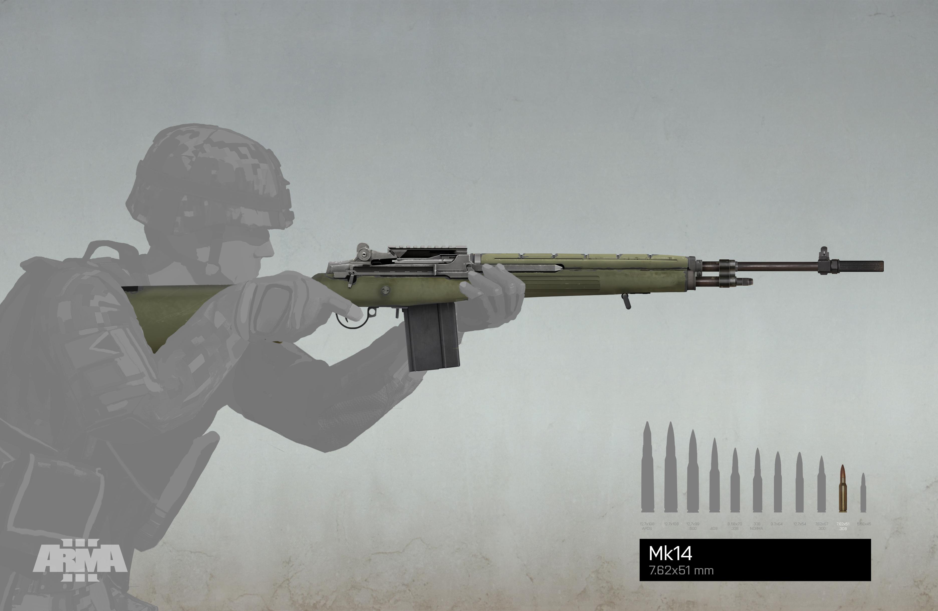 Omrkněte 7 nových zbraní z DLC Arma 3: Marksmen 106641