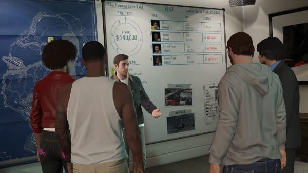 Heisty v GTA Online budou trvat v průměru dvě až tři hodiny 106734