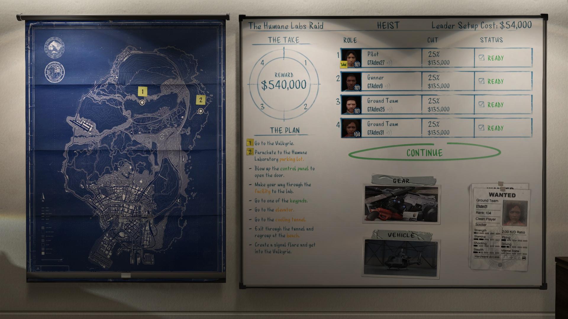 Heisty v GTA Online budou trvat v průměru dvě až tři hodiny 106746