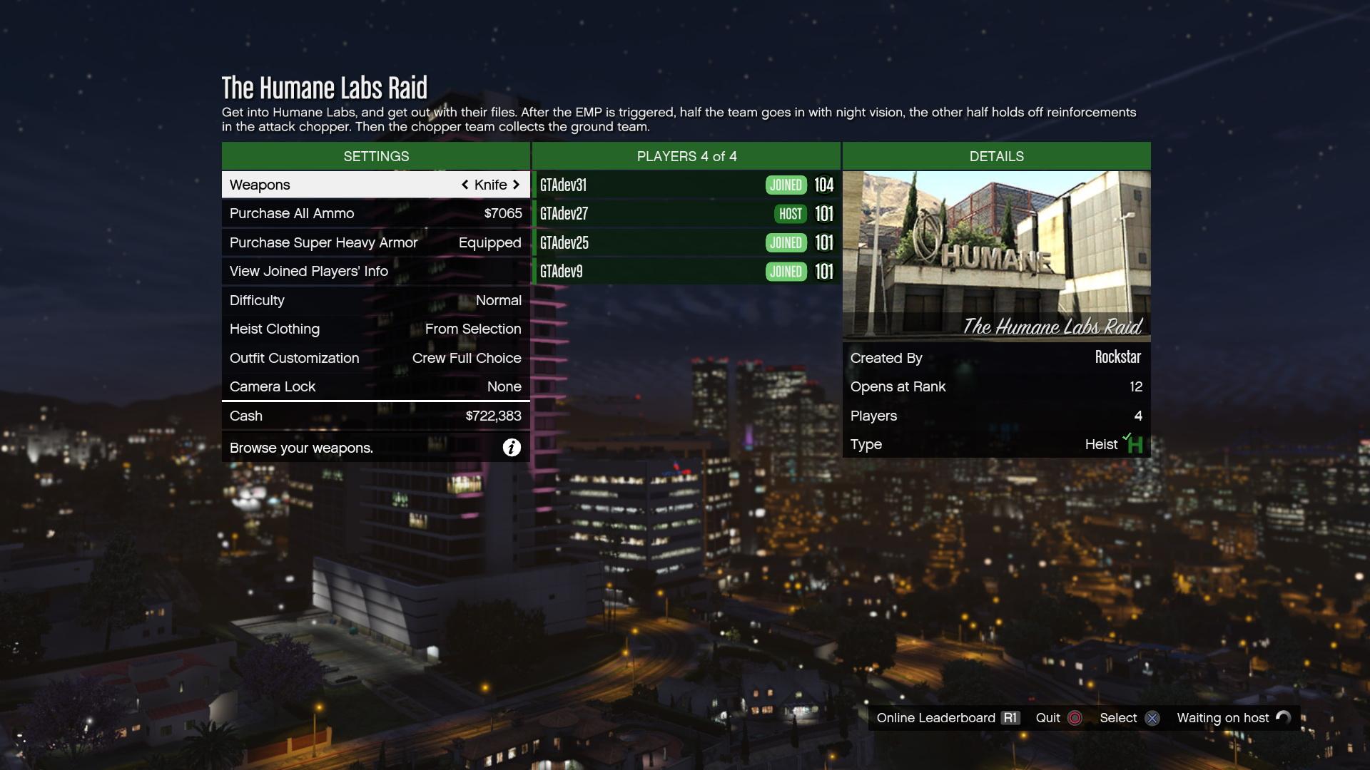 Heisty v GTA Online budou trvat v průměru dvě až tři hodiny 106747