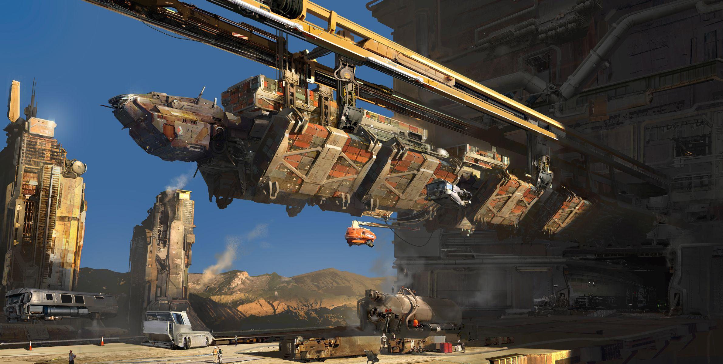 Lasery a výbuchy z taktické akce Dreadnought 106798