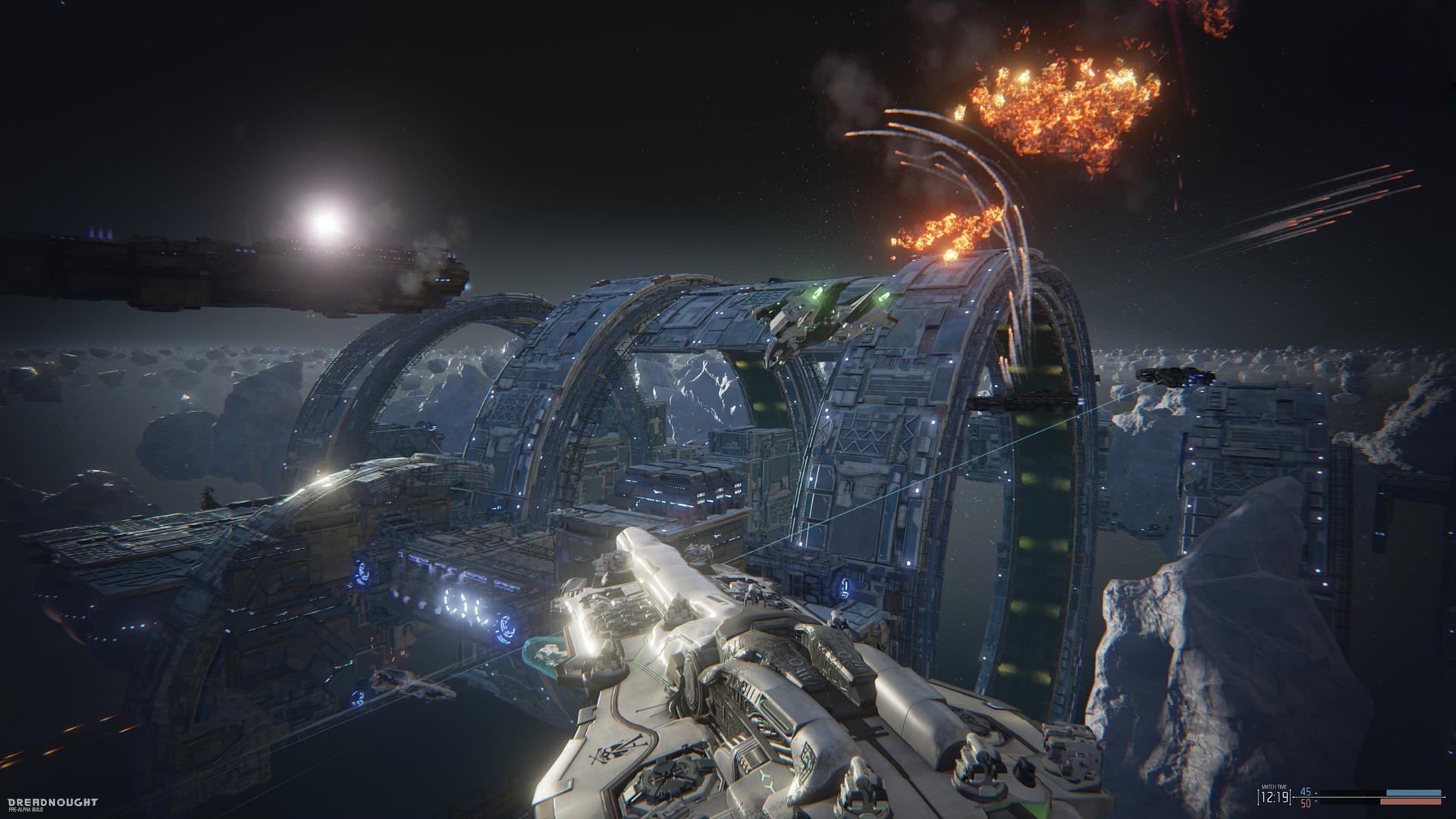 Lasery a výbuchy z taktické akce Dreadnought 106810