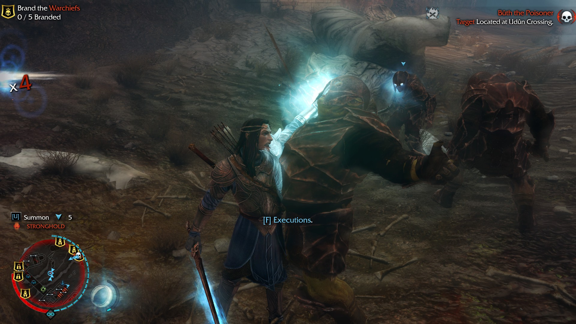 Shadow of Mordor: The Bright Lord DLC 106850