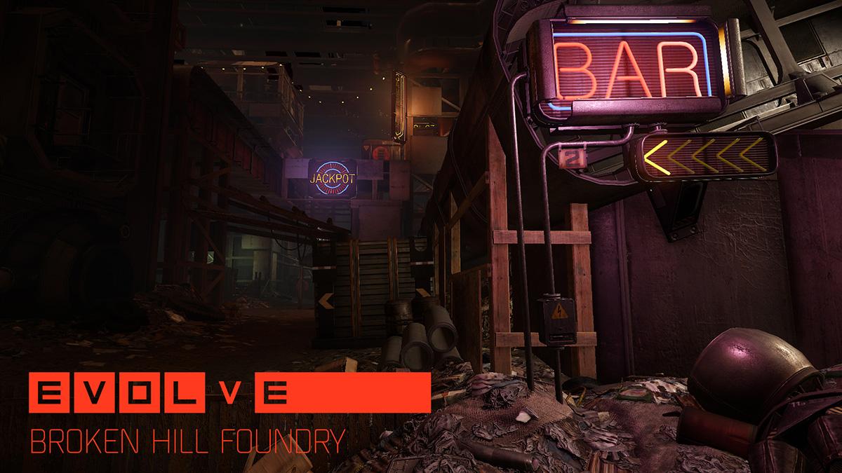 Evolve přidává dvě nové mapy 106972