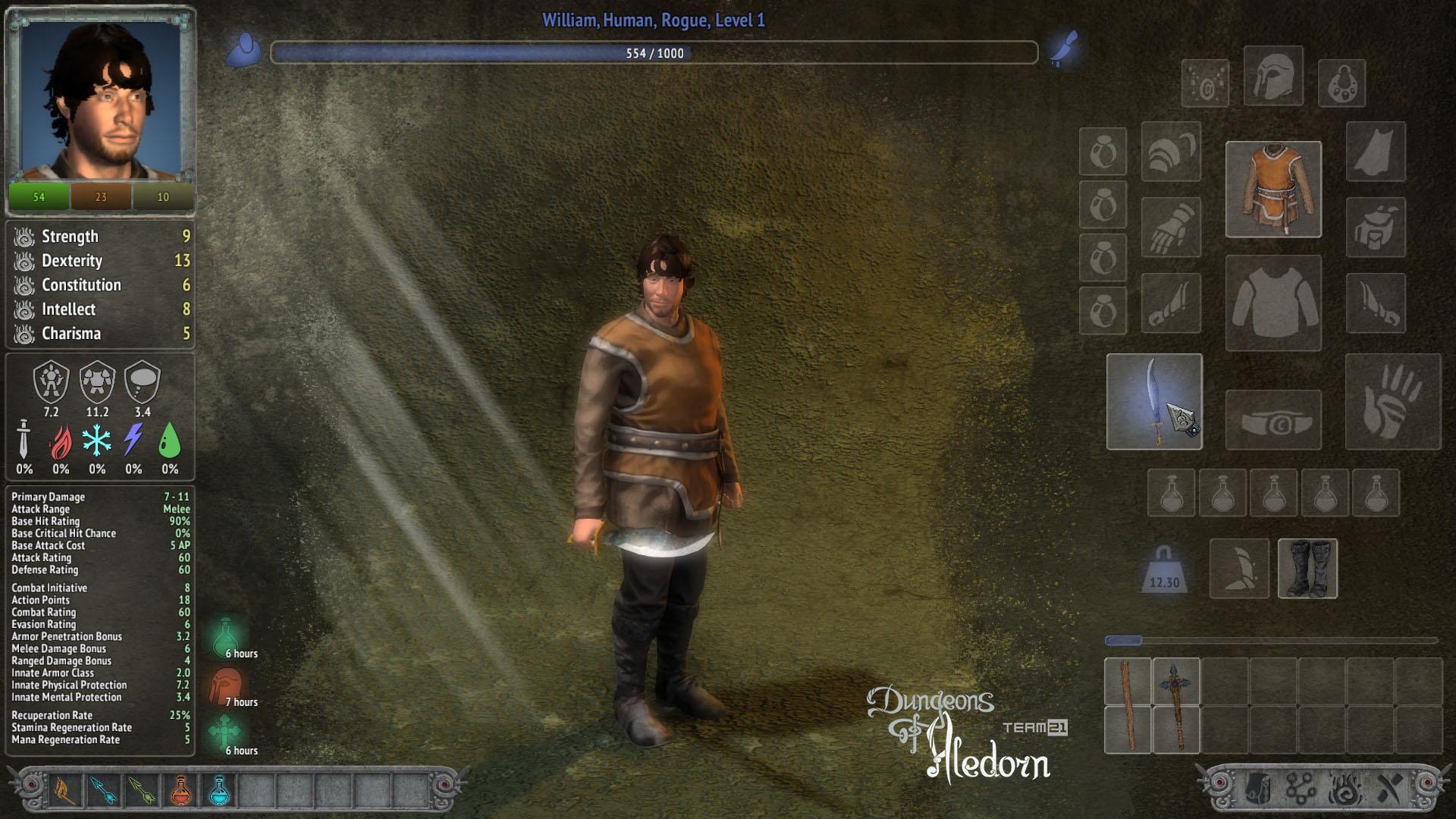 České hardcore RPG Dungeons of Aledorn započalo svou kampaň na Kickstarteru 107021