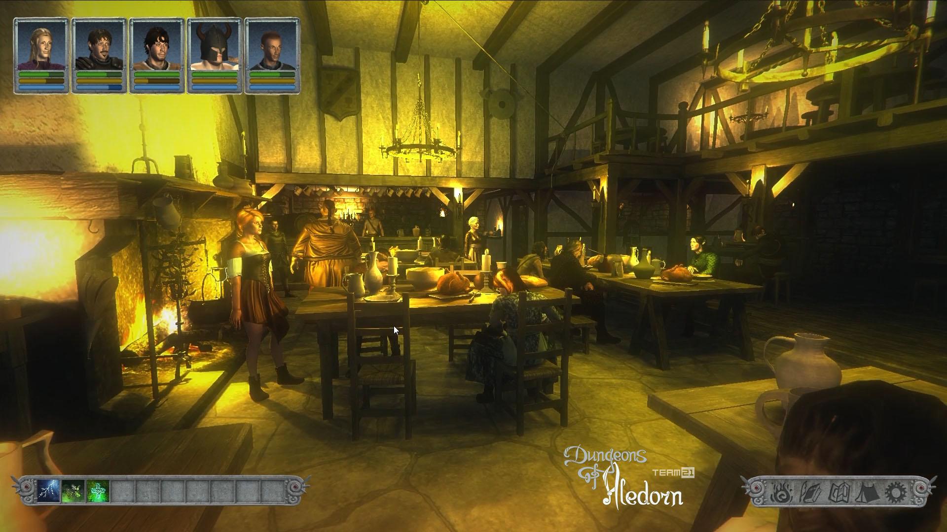 České hardcore RPG Dungeons of Aledorn započalo svou kampaň na Kickstarteru 107022