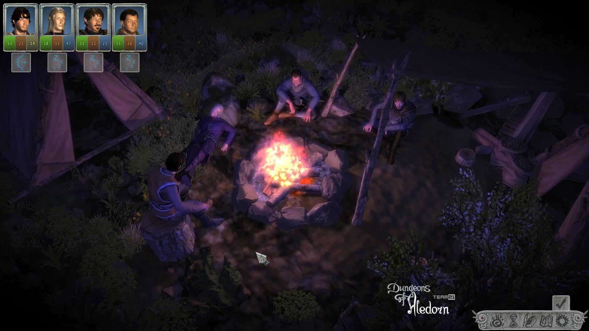České hardcore RPG Dungeons of Aledorn započalo svou kampaň na Kickstarteru 107023