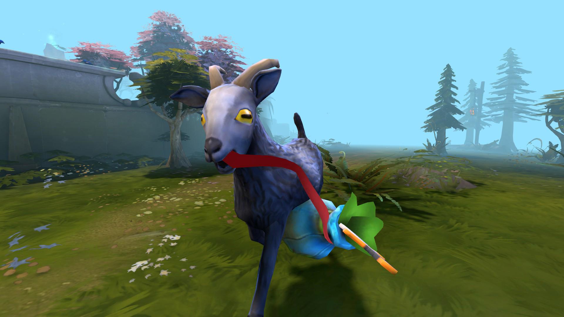 Koza z Goat Simulatoru se snaží prorazit v Dotě 2 107072
