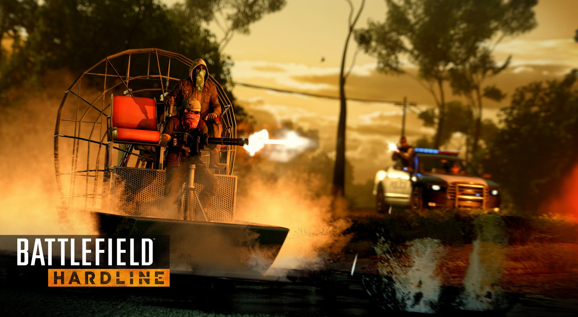 Čtveřice obrázků z Battlefield Hardline 107091