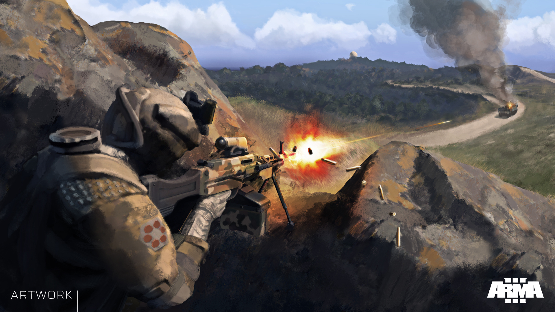 Arma 3: Marksmen vyjde 8. dubna 107143