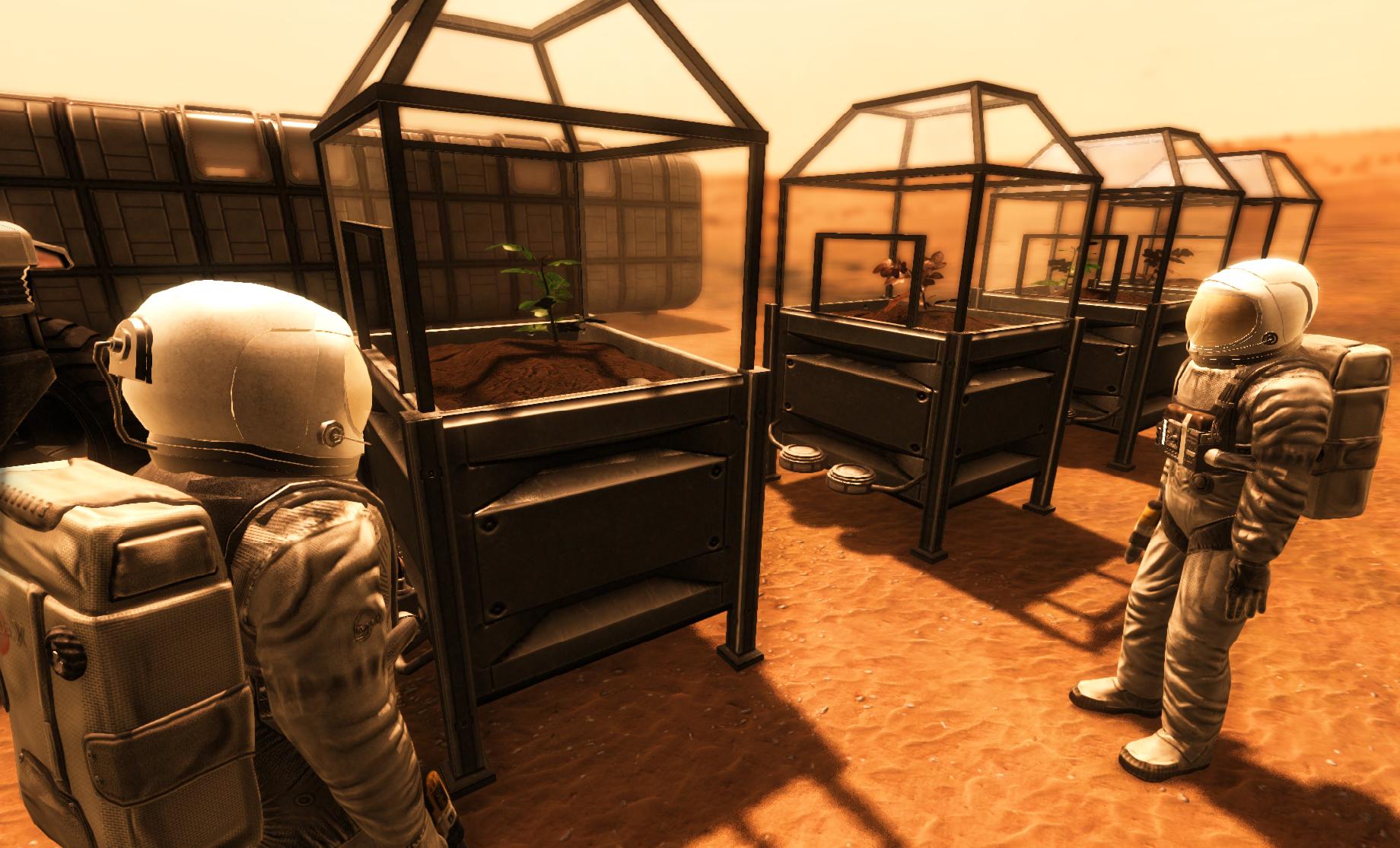 V Take On Mars můžete pěstovat rostliny 107175